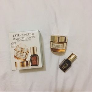 Estee Lauder Revitalize+Glow Revitaliser+Illuminer
